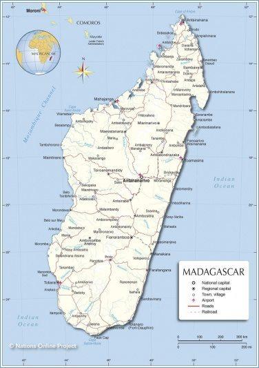 Que ver en Madagascar - Lugares turisticos y sitios para visitar