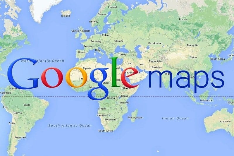 Que ver en el mundo - Google Mapas