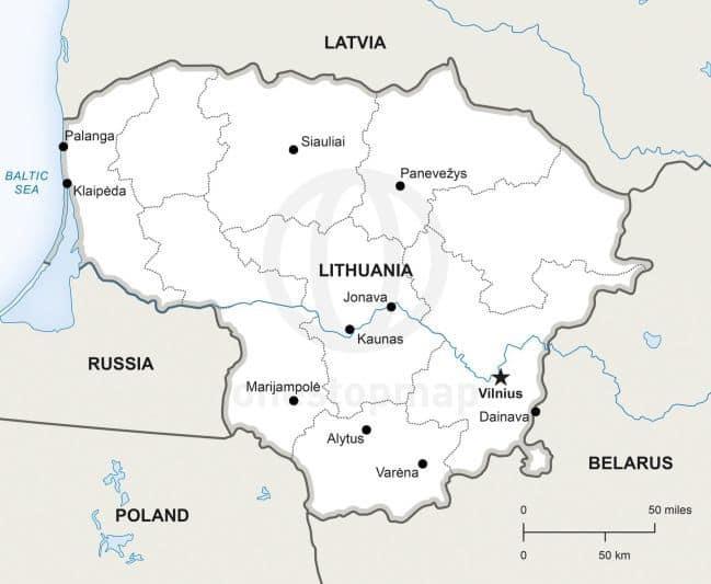 ¿QUÉ VER en LITUANIA? - ¿Qué LUGARES Visitar?