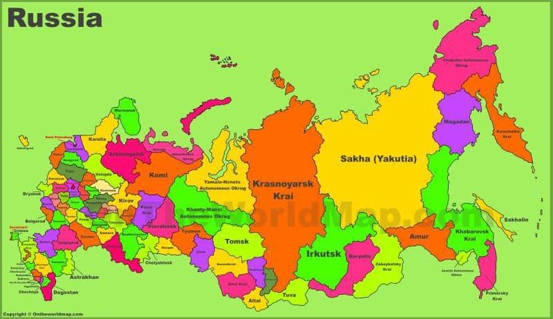 ¿QUÉ VER en RUSIA? - ¿Qué LUGARES Visitar?