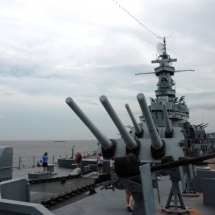 Battleship USS ALABAMA (Mobile)