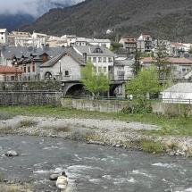 el río gállego a su paso por biescas / foto Javier Blasco/ 30-4-12