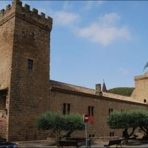 Palacio-castillo del Príncipe de Viana (Sangüesa, 9-7-2012)